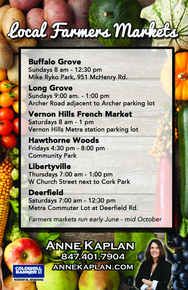 farmers market in the chicago suburbs
