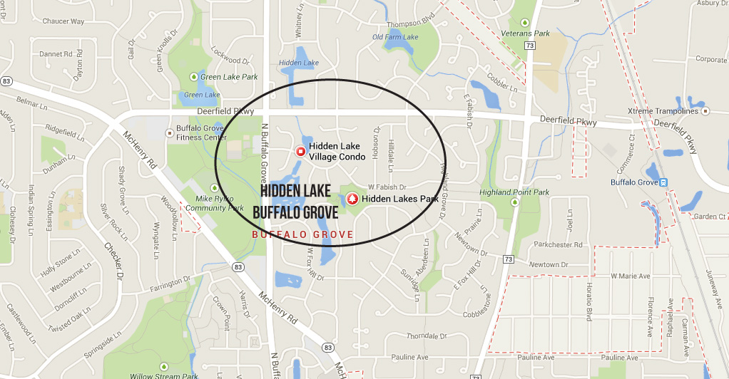 Hidden lake subdivision buffalo grove IL