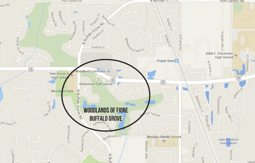 Homes for sale woodlands of fiore buffalo grove il