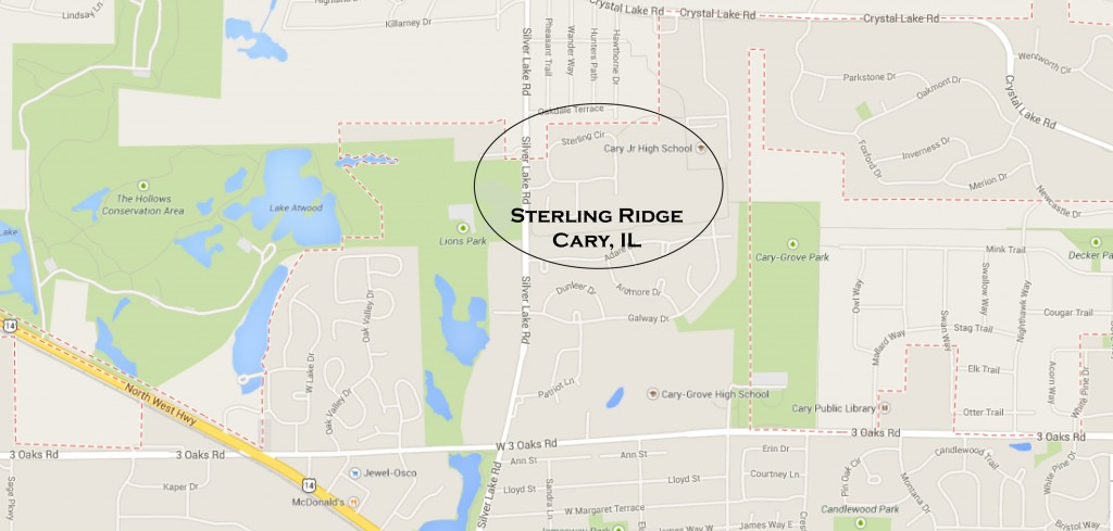 sterling ridge map