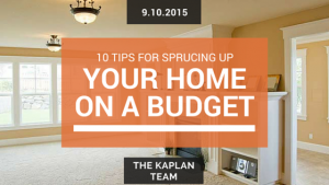 Updating your home on a budget