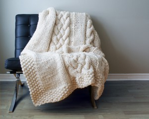 chunky throw